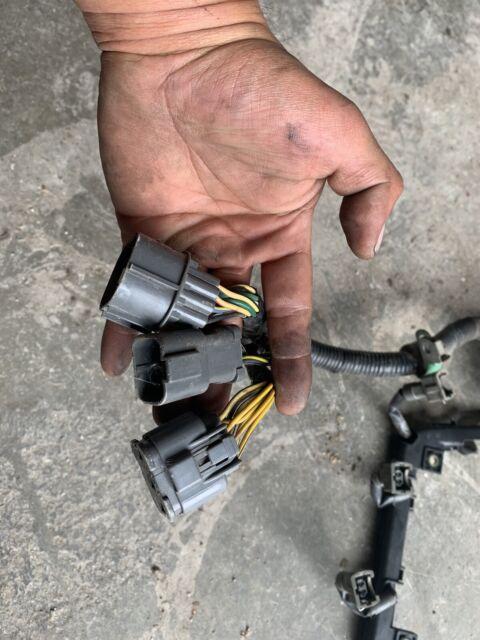 92-93 Honda Civic D15b7 Engine Wire Harness Obd1 P06 Wiring DX LX Del Sol  for sale online | eBayeBay