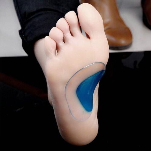 Kids Flat Feet Foot Care Arch Shoe Insole Gel Pads Pain Relief Support Orthotic
