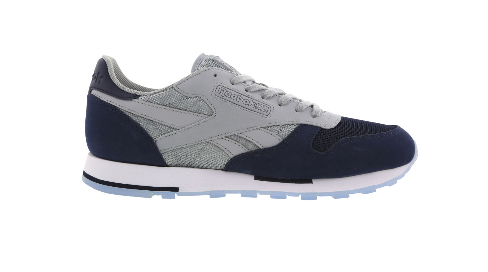 Mens REEBOK CL LEATHER CP Navy Blue Trainers BD5697