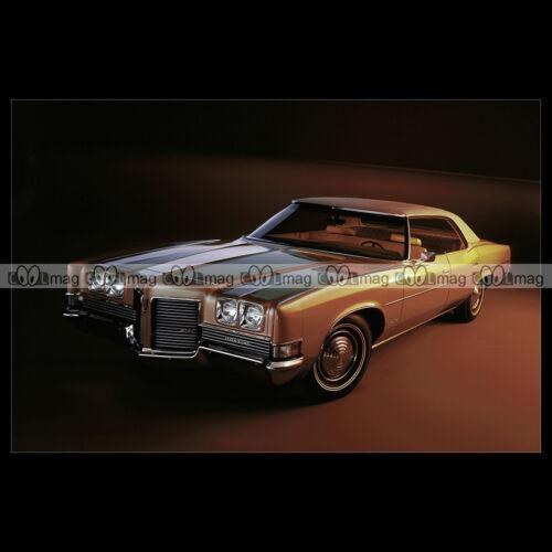 #pha.004115 Photo PONTIAC CATALINA 4-DOOR HARDTOP 1971 Car Auto