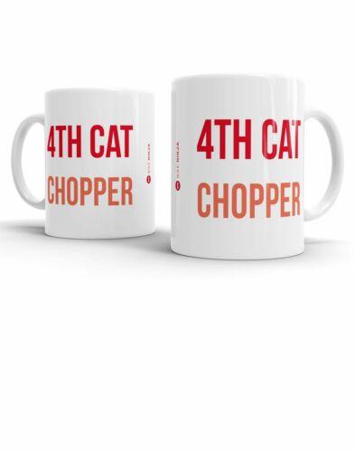4TH Cat Chopper-BIKE Ninja Mug de cyclisme sur route