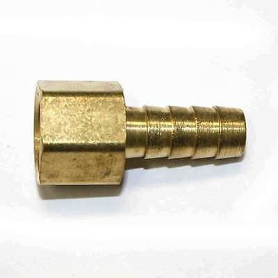 1//2 Inch Barb X 3//4 Inch NPT Male End Connector Interstate Pneumatics FM98 Brass Hose Barb Fitting