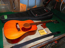Vintage Standel / Harptone Acoustic Guitar Rare Made In USA Carved Round Back