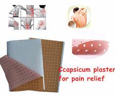 100 pcs Capsicum plaster Capsicum Plaster Pain Relief Patch Hip Knee Back Ankle