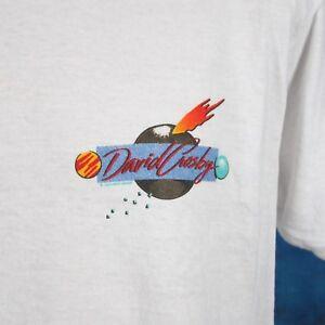 vintage-80s-DAVID-CROSBY-CONCERT-T-Shirt-M-L-rock-folk-tour-stills-amp-nash-thin