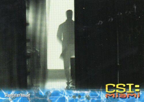 CSI Miami   Individual Trading Cards
