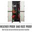 thumbnail 4 - Outdoor Adjustable Storage Cabinet Cupboard Patio Weatherproof Lockable Plastic