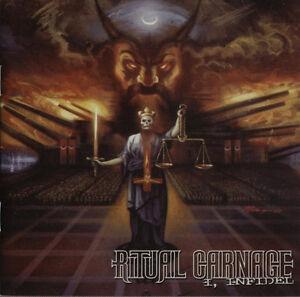 RITUAL-CARNAGE-I-INFIDEL-CD-death-thrash-king-039-s-evil-fastkill-morbid-saint
