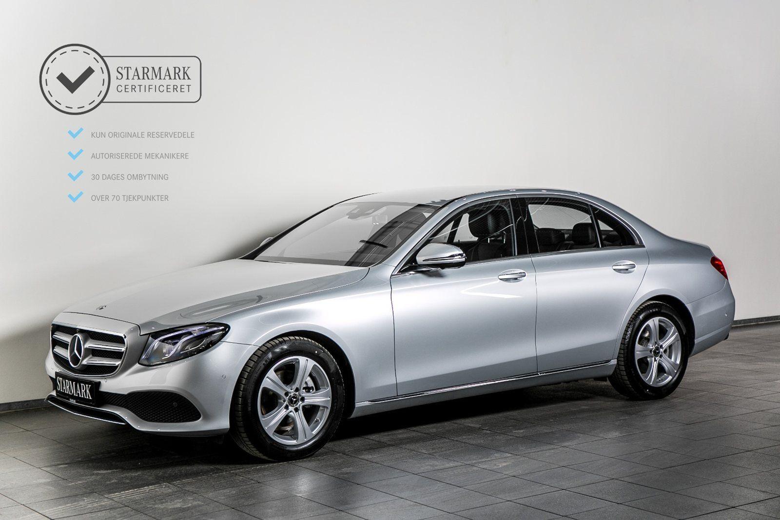 Mercedes E220 d 2,0 Avantgarde aut. 4d - 594.900 kr.