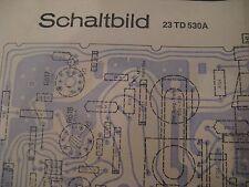 Philips 23 TD 530 A Schaltbild