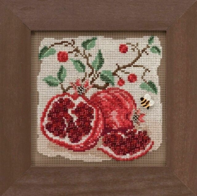 Mill Hill Buttons and Beads - Pomegranates - Cross Stitch Kit - MH14-1926