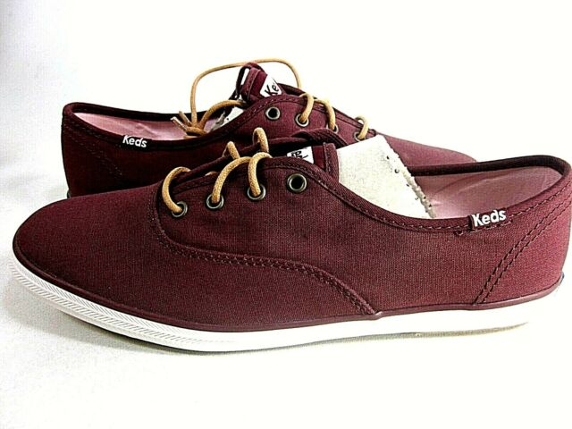 CH Ox Burgundy Canvas Shoes