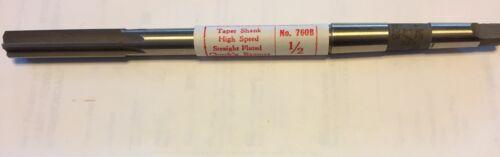 "92-01MB 1//2""Millersburg 760B -6 Straight FLT Taper Shank H-2-3 Reamer"