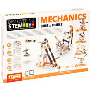 Engino Discovering STEM Mechanics Cams Cranks Construction Kit Building Toy New