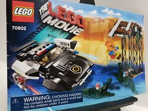 Lego Instruction Book The Lego Movie 70802 Bad Cop S Pursuit Ebay