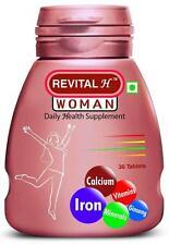 Revital-H Women Tablets Daily Health Supplements,Vitamin & Minerals(3x30Tab)Each