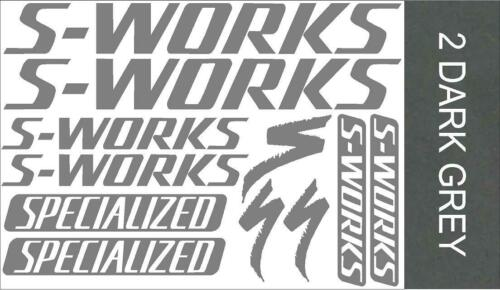 SPECIALIZED S-WORKS Decals Van Stickers Bmx Mtb Cycling Car