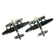 Lancaster Bomber Aeroplane Aircraft Mens Gift For him Cufflinks