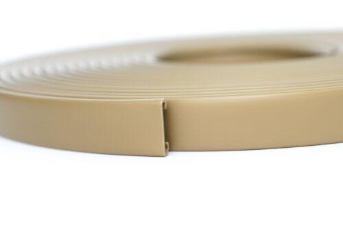 15 m PVC main courante 40x8mm Escalier Main Courante Plastique Main courante en caoutchouc Or