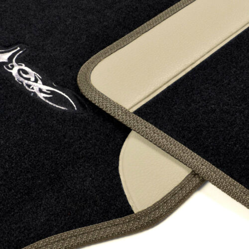 For AUDI New Semi Custom Syn Leather Car Seat Covers Vinyl Mats BT Set
