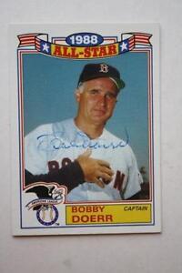 Boston Red Sox Star Bobby Doerr signed/autograph 1989 Topps All-Star insert card