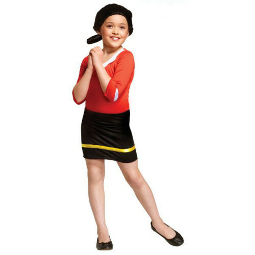 Childs Olive Oyl Popeye Costume