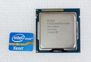 Processeur Intel Xeon E3-1225 V2   3,20GHz turbo 3,60GHz - 4 cœurs LGA1155