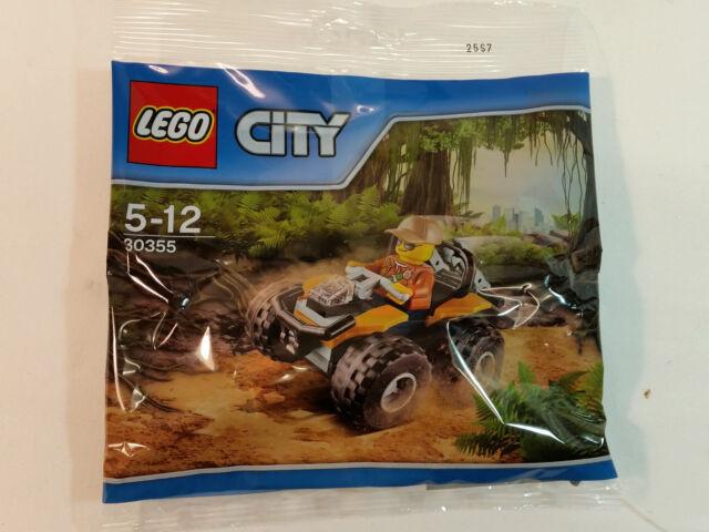 Lego City - Jungle Quad 30355 - Polybag Neuf / Emballage D'Origine