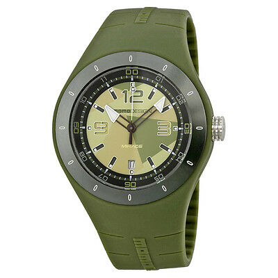 Momo Design Mirage  Camouflage Green Dial Green Silicone Mens Watch MD4006MG-51