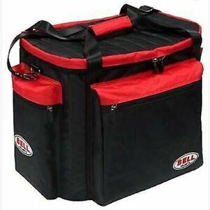 Bell-Casque-amp-Gear-Sac-Noir-Rouge-Egalement-Ideal-Pour-Hans-Outil-Bottes