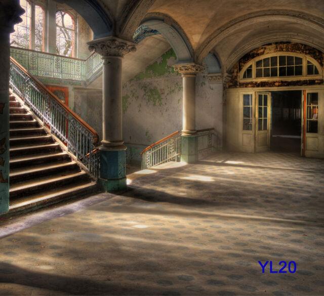 Retro corridor Vinyl Backdrop Photography Prop CP Photo Background 10X10FT YL20