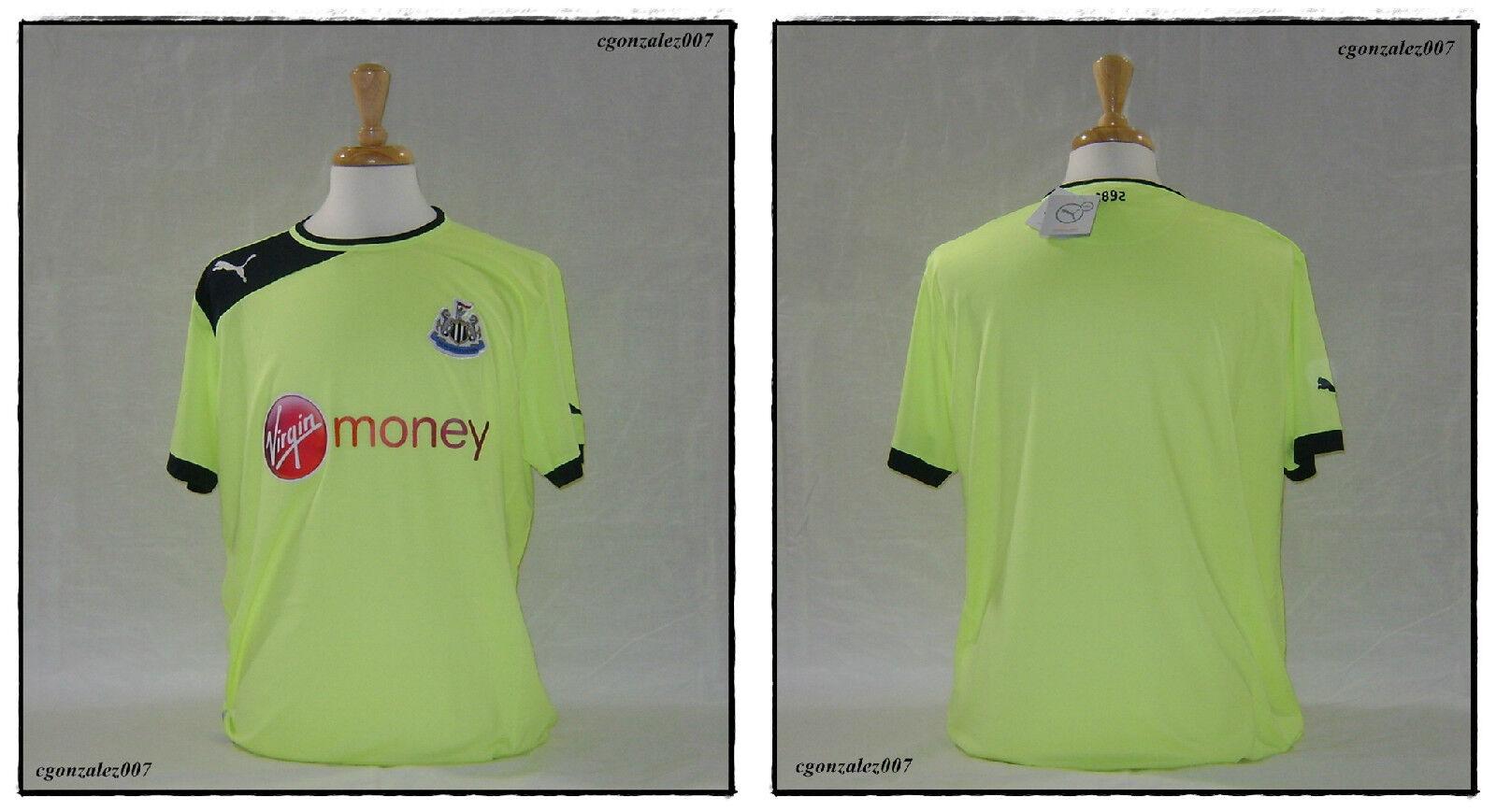 Puma Newcastle United Fc Las Urracas Soccer Futbol Jersey para hombre Epl BPL Fa