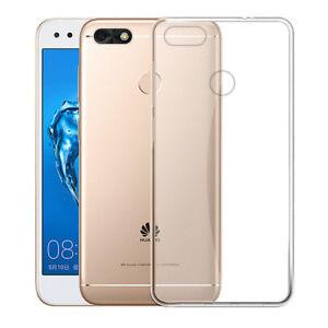 super popular d2f9f 11ef3 Details about For Huawei P9 Lite Mini Plus Soft Silicone TPU Ultra Thin  Clear Case Cover Skin