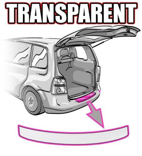 VW Tiguan 2 Ladekantenschutz TRANSPARENT ORACAL©
