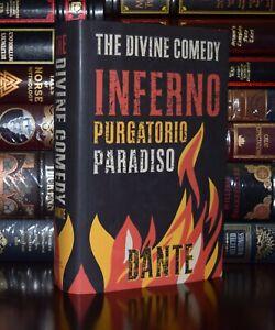 Divine Comedy Inferno Purgatorio Paradiso by Dante Alighieri  New Hardcover