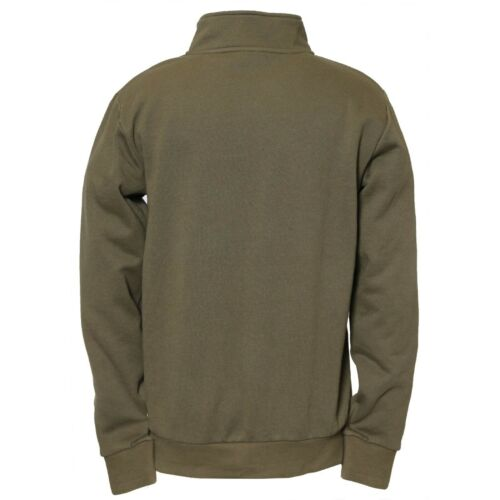 Caterpillar CAT 1910078 AG 1//4 Zip Pull Over Eclipse Blue or Cypress Green|