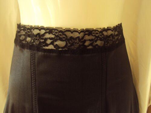 Rago 826 Medium shaping Corset Luxury Satin and lace  Black XL-6X