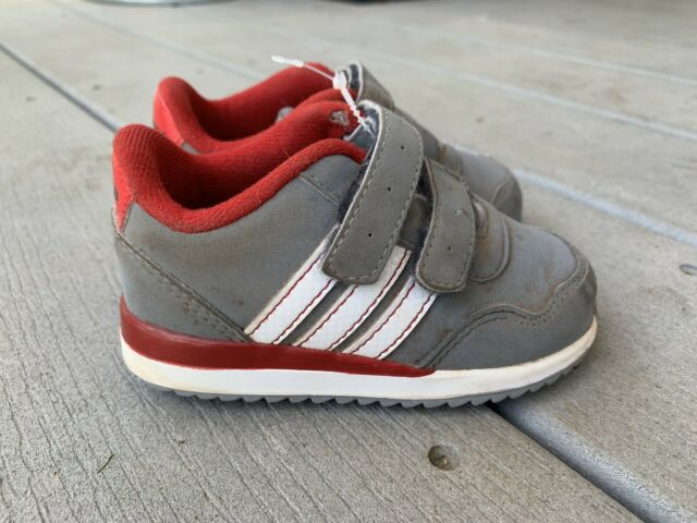 Toddler Boys Adidas Shoes Size 5 Baby Toddler Gray Red