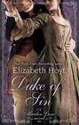 Duke of Sin by Elizabeth Hoyt (Paperback, 2016)