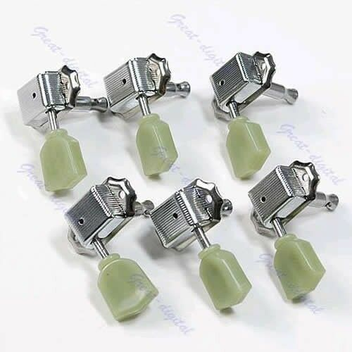 New Guitar 3R 3L Deluxe Tuning Pegs Machine Heads Tuners For Gibson Style