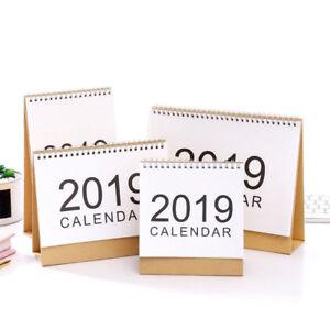 2019 Escritorio Abatible Calendario Vista Mensual Levántate Oficina Hogar Mesa
