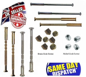 M3 M4 M5 UPVC Door handles screws with sleeve, grub screws for knobs and handle