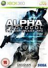 Microsoft Xbox 360 Alpha Protocol The Espionage RPG SEGA Video Game
