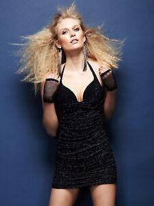 Geschickt Ann Summers Kissing Cleavage Instant Boob Job Glitter Dress Sz 36dd *in Stock*