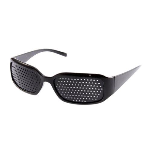 1X Vision Anti-fatigue Eyesight Care Glasses Improver Pinhole Exercise Black NZ