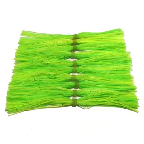 Standard Cut SF013 10pcs silicone Skirt For SpinnerBait Skirt banded Skirts