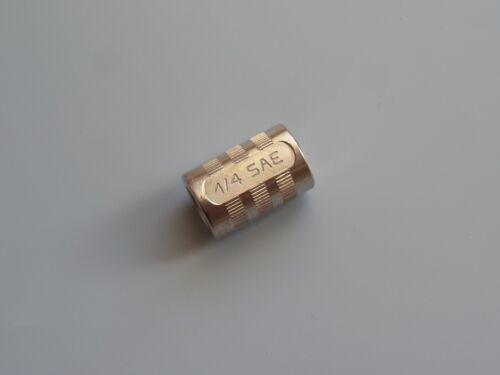 Conector 1x adaptador 1//4 SAE para propiedad botella refrigerantes y aire acondicionado