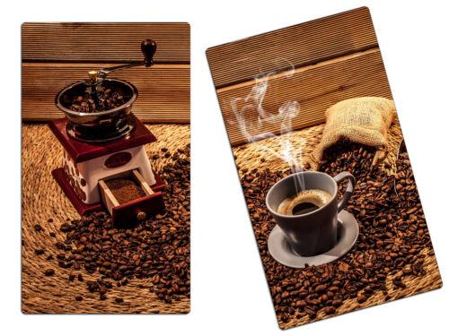 Herdabdeckplatte Planche à découper anti-projections 2er Set ha63393958 tasse de café BOHN
