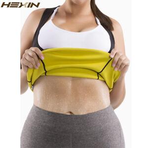 d547c7265a HEXIN Plus Size Neoprene Sweat Sauna Hot Body Shapers Vest Waist ...