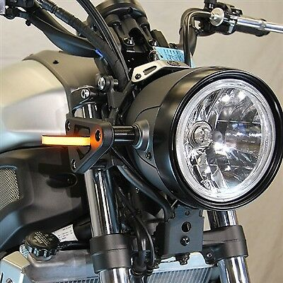 Yamaha XSR 700 Front Turn Signals Led New Rage Cycles NRC Motogp Race Set L /& R